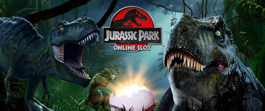 The Jurassic Park online slot game
