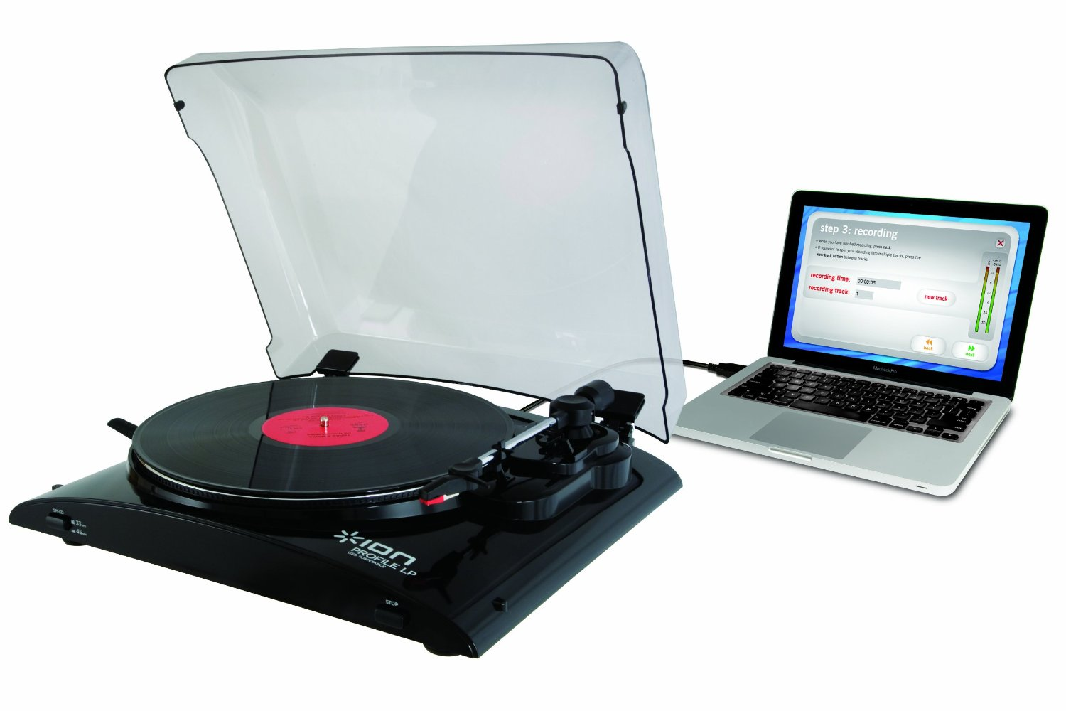 Connect a Turntable To a Laptop 2