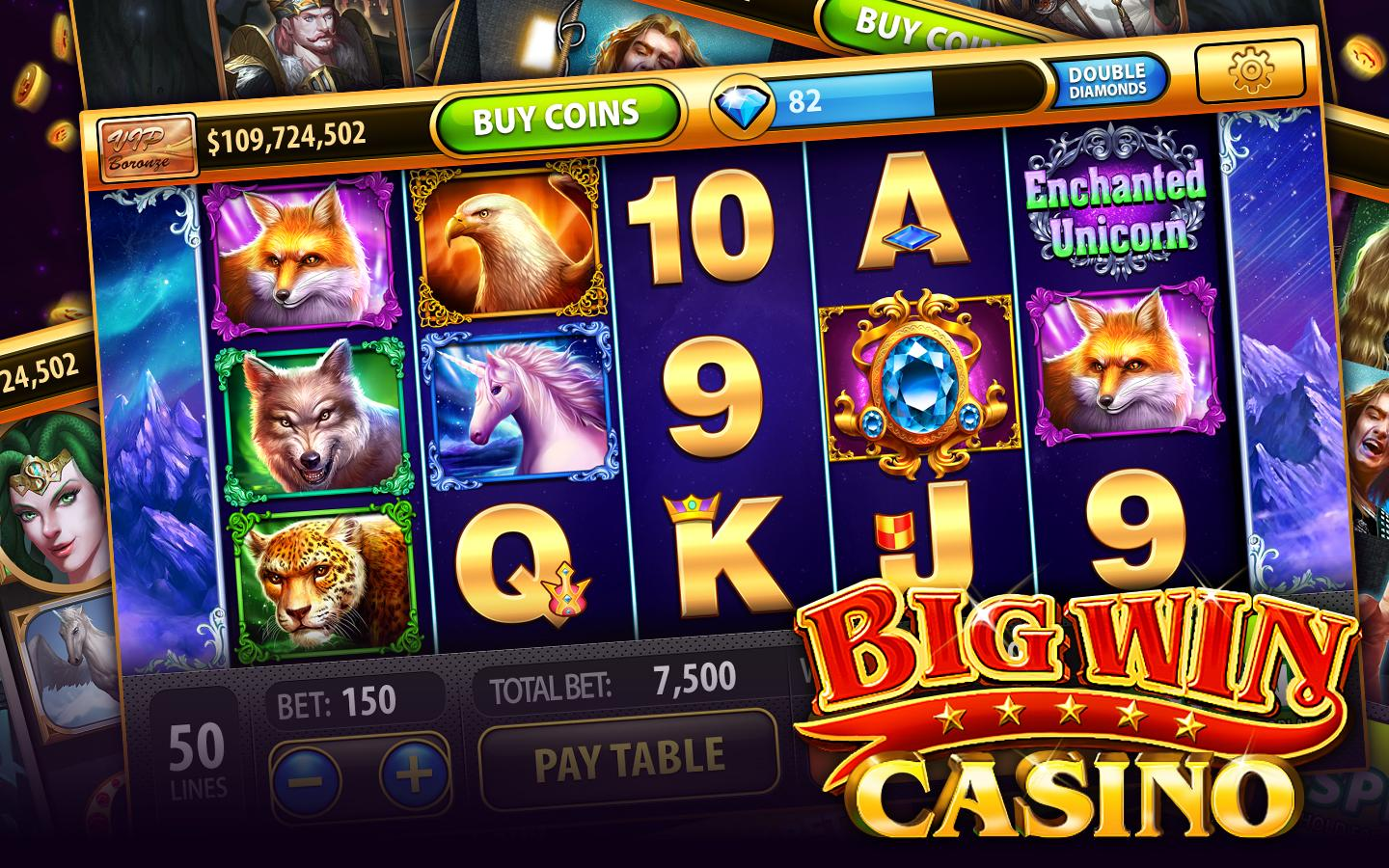 Free to play casino games