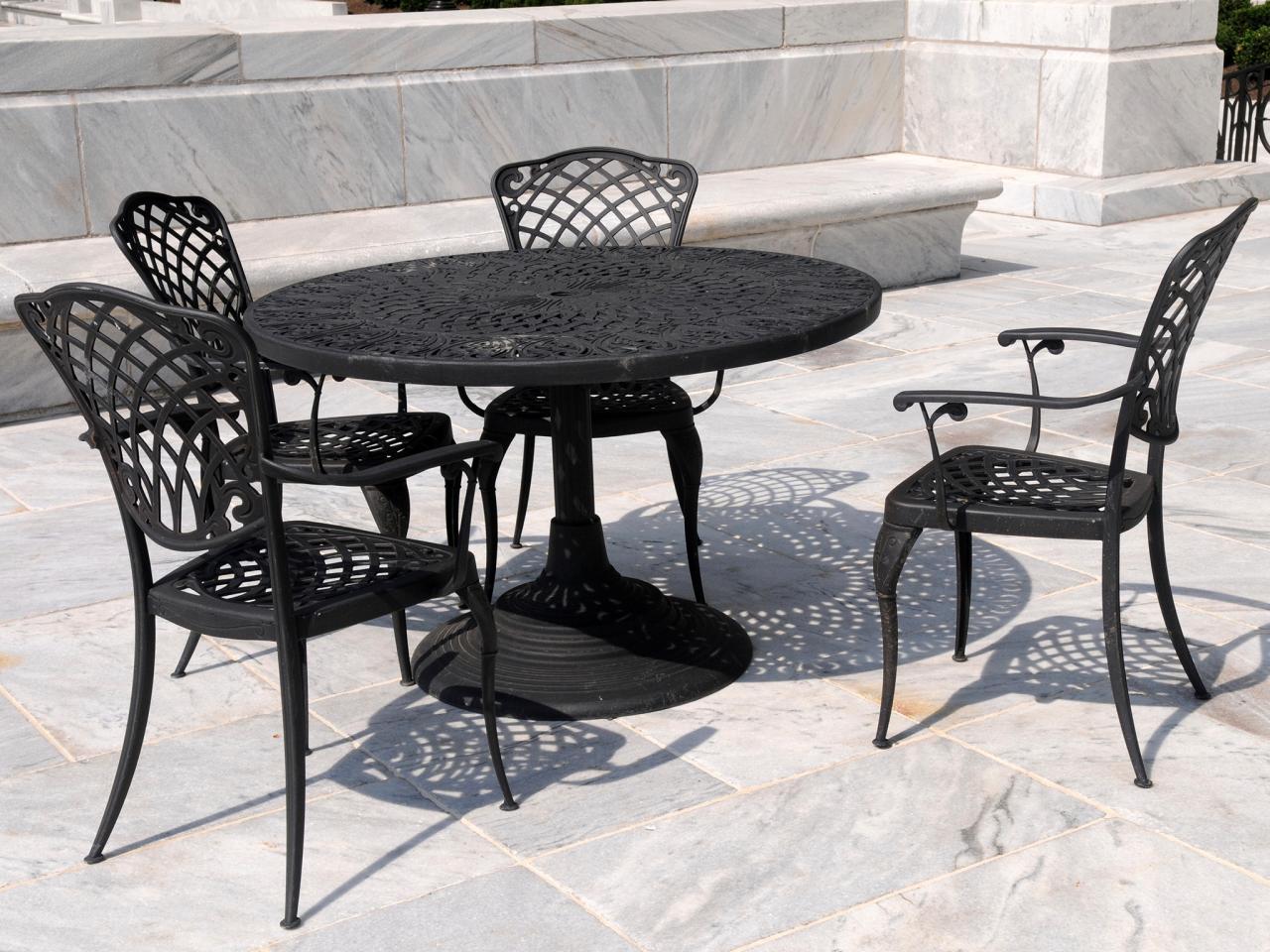 patio metal furniture