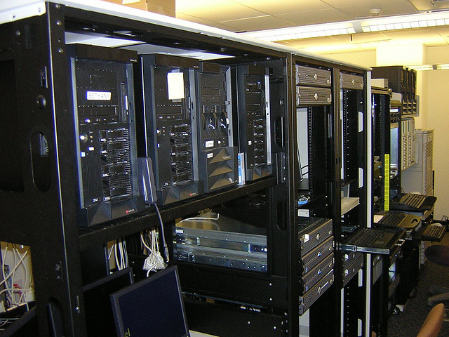 Server Room Design : How to design a server room clickhowto
