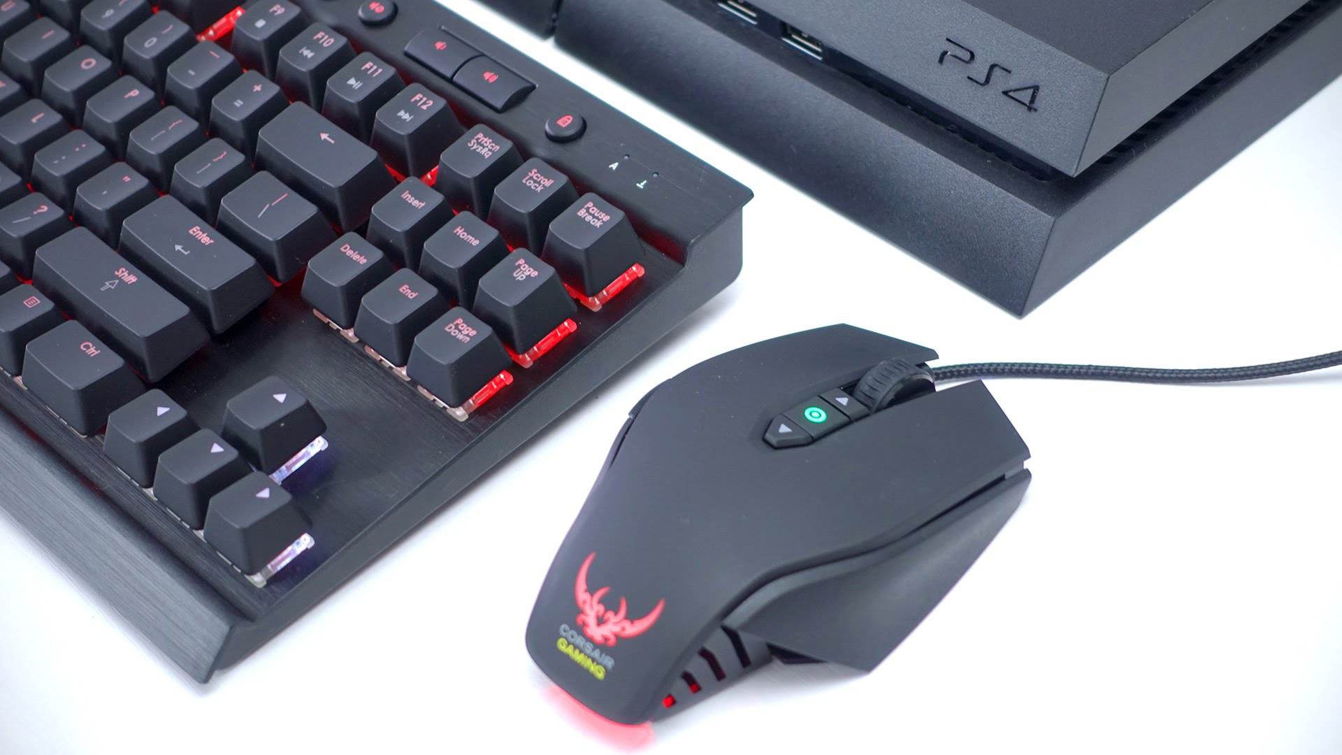 WHAT PS4 GAMES WORK WITH KEYBOARD AND MOUSE - YouTube