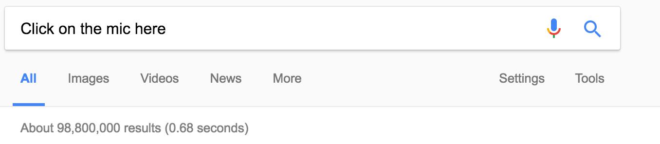 Google Micrphone