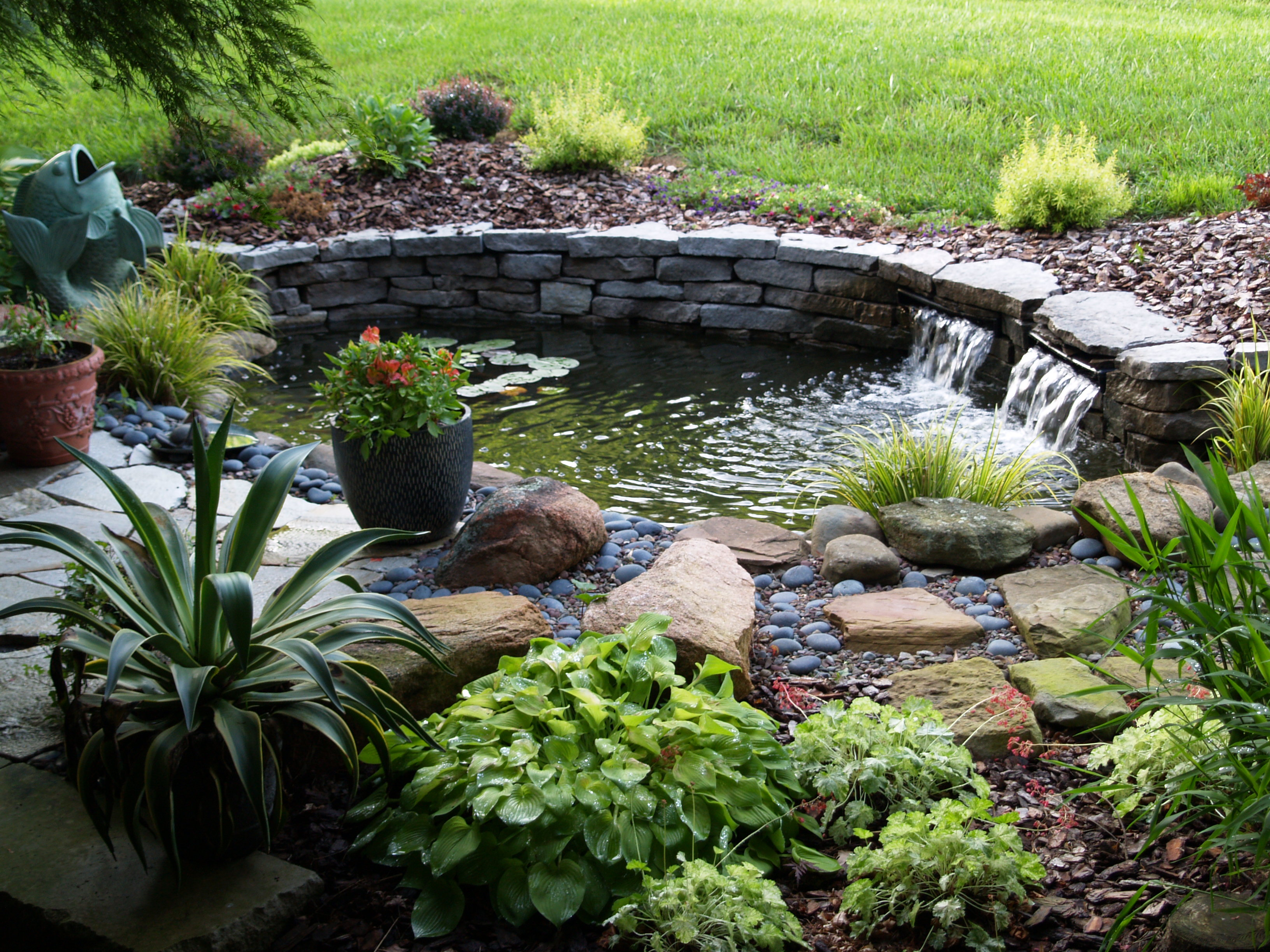 How To Build A Raised Pond In Your Garden